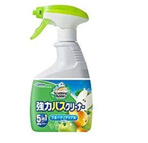 お風呂洗剤おすすめランキングスクラビングバブル強力バスクリーナー