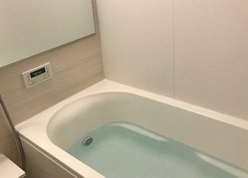 お風呂汚れ重曹