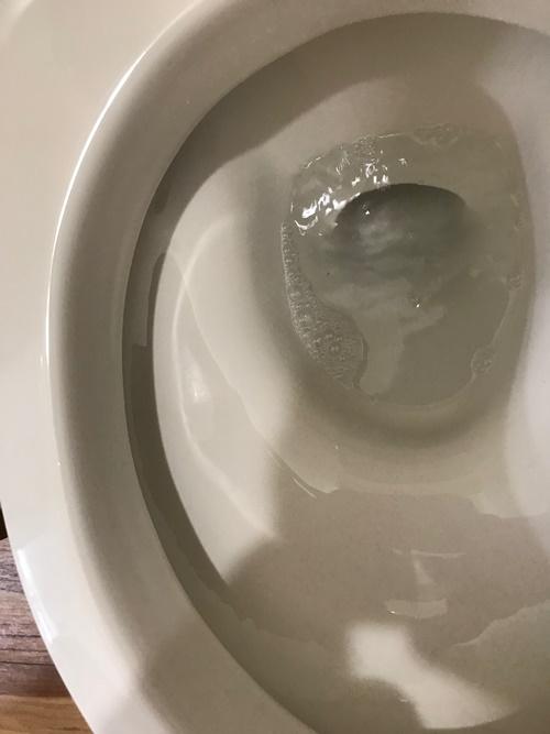 トイレ黒ずみカビ汚れ